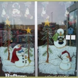 Window Painting Ideas For Christmas