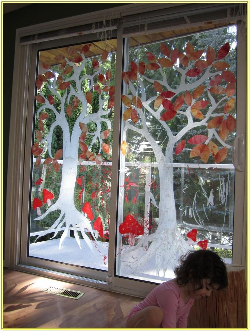 Window Painting Ideas For Fall