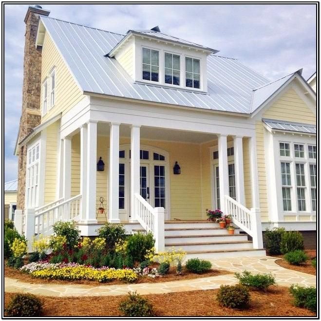 Yellow Exterior Paint Color Combinations
