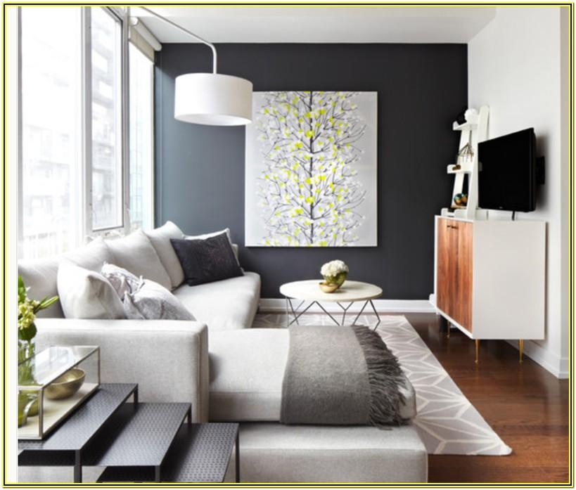 Accent Wall Designs For Living Room