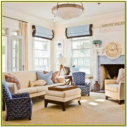 Beach Decorating Ideas For Living Room