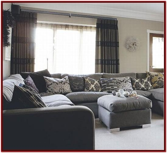 Black And Grey Decor For Living Room