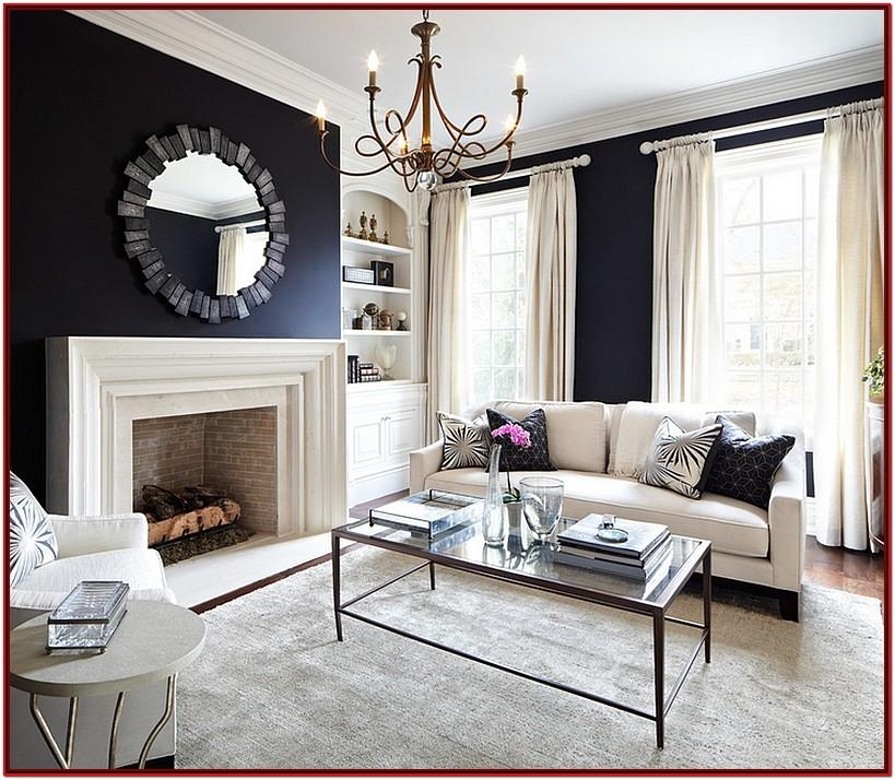Black Couch Living Room Decor