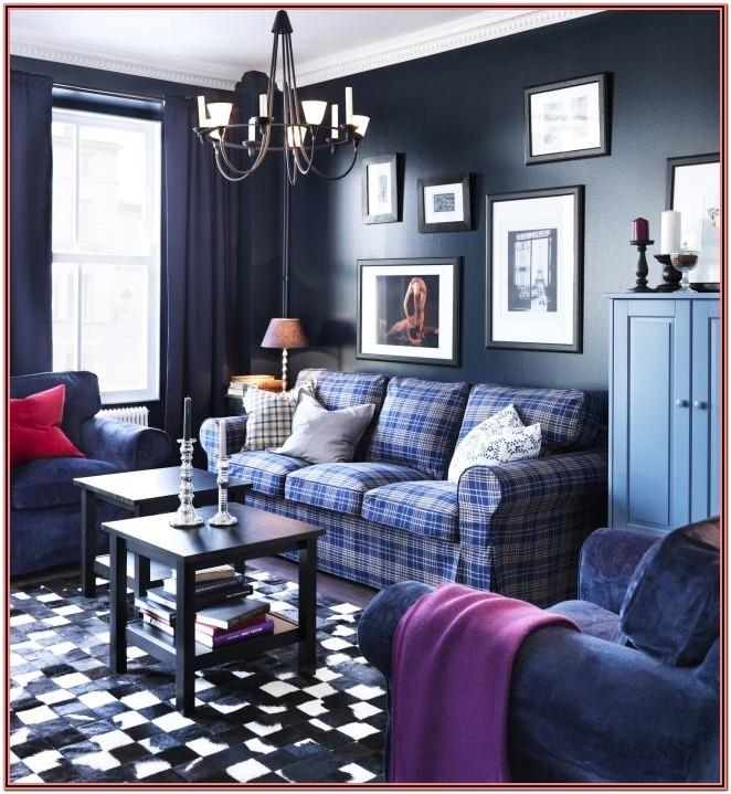 Blue And Purple Living Room Decor