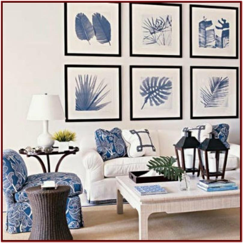 Blue And White Living Room Ideas