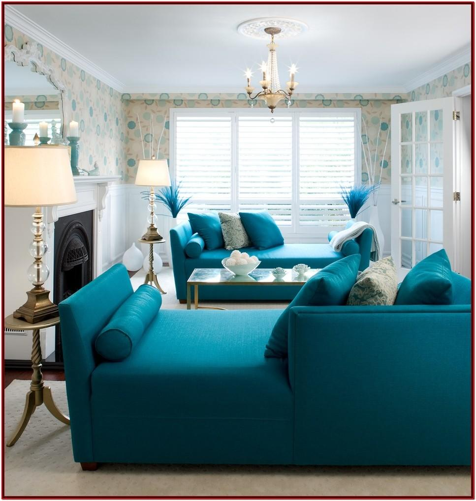 Blue Living Room Decorating Ideas Pictures