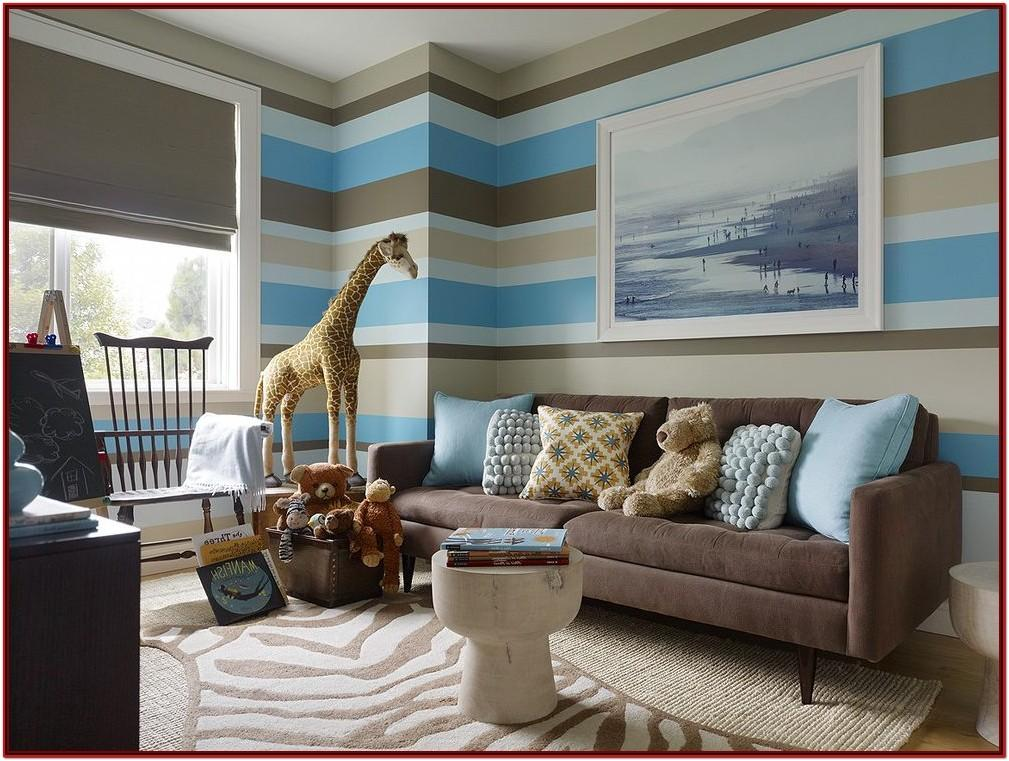 Brown And Blue Decorating Ideas For Living Room
