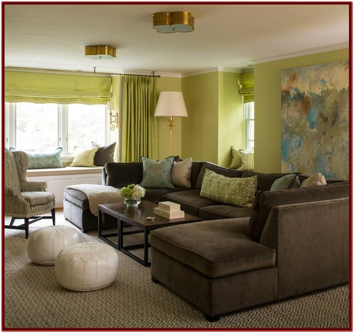 Brown Green And Blue Living Room Ideas