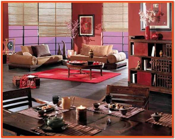 Chinese New Year Living Room Decorations