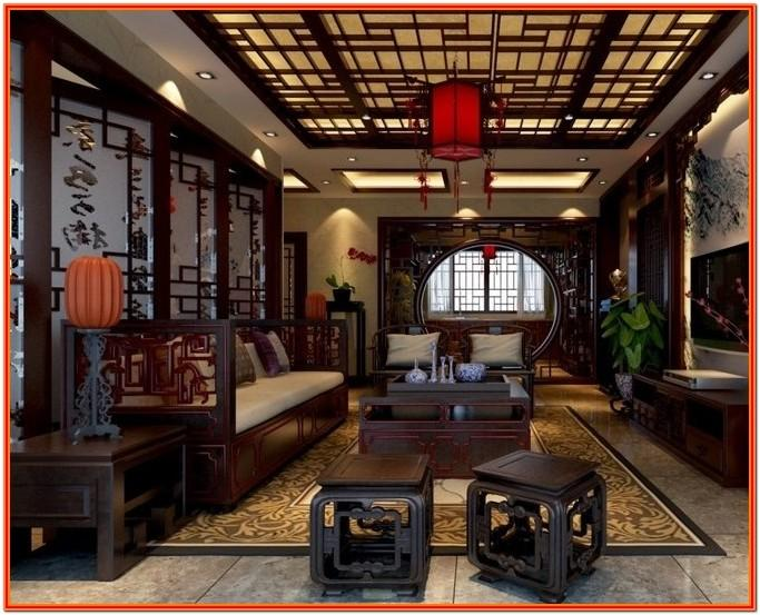 Chinese Style Living Room Interior Design