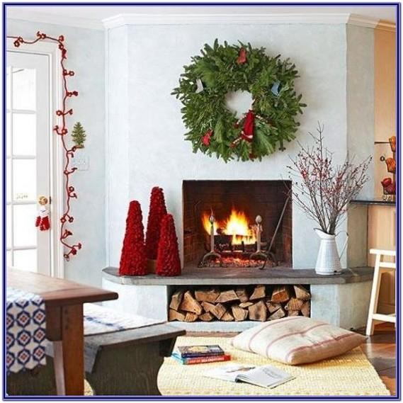 Christmas Living Room Decor Without Fireplace