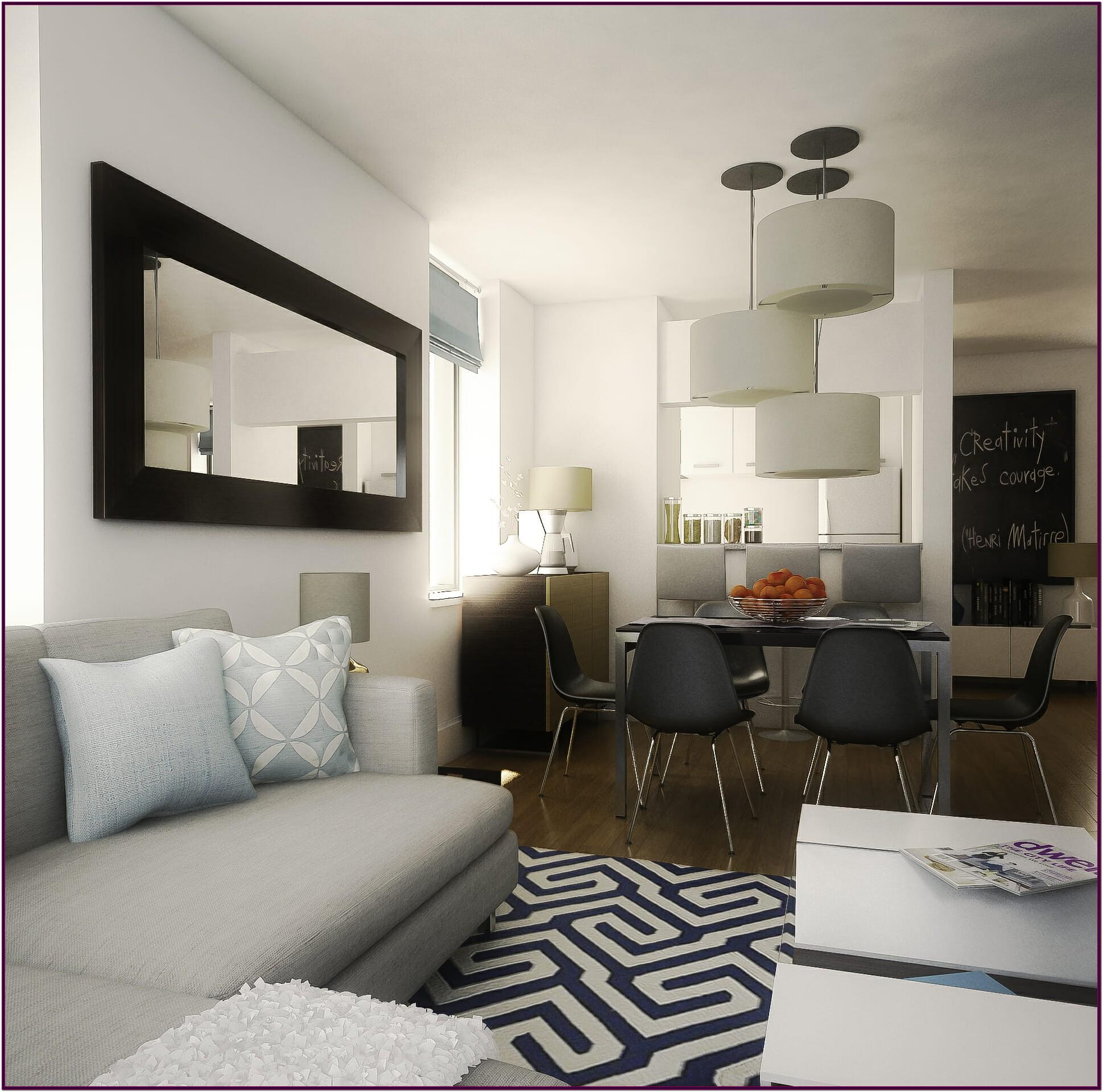 Combined Living Room And Dining Room Decorating Ideas