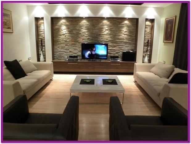 Contemporary Living Room Wall Decorating Ideas