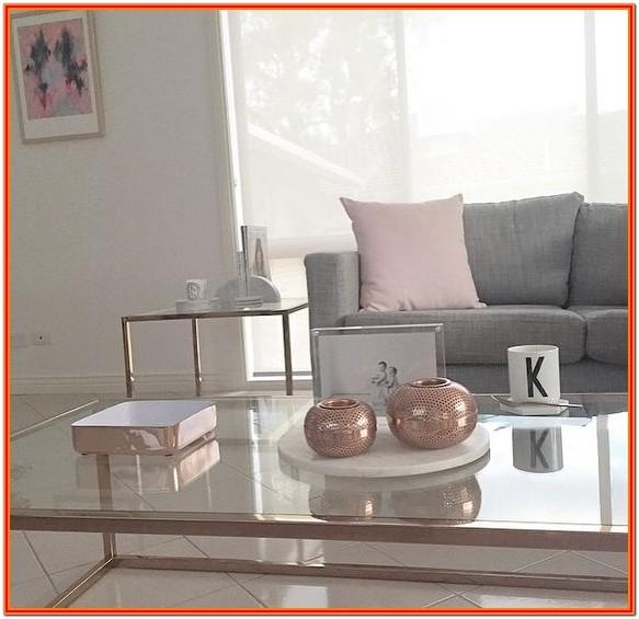 Copper Coloured Living Room Accessories
