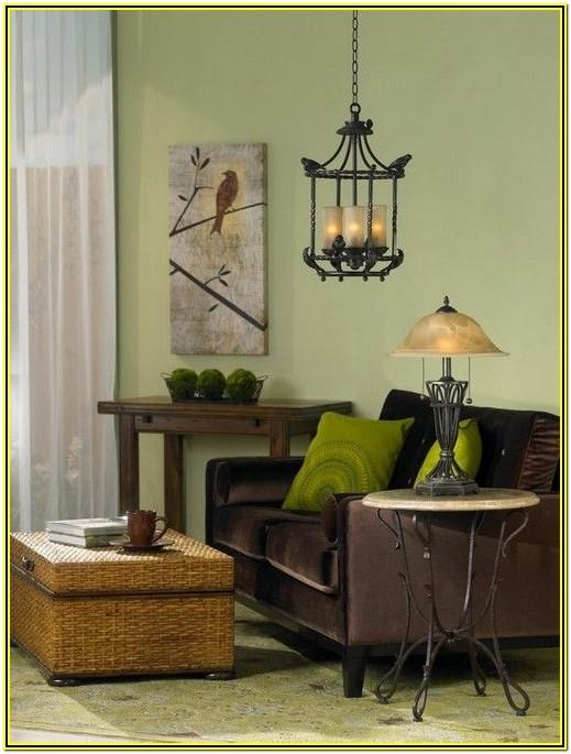 Dark Green And Brown Living Room Ideas