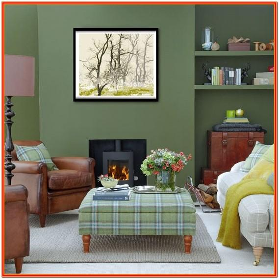 Dark Green Living Room Decor