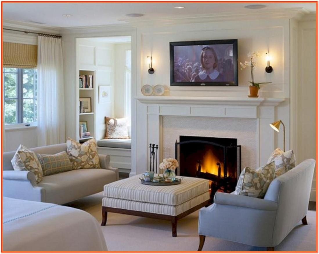 Decor For Living Room With Fireplace