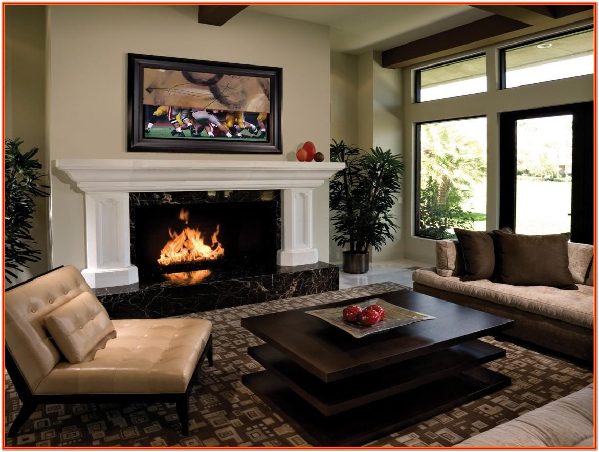 Decor For Small Living Room With Fireplace