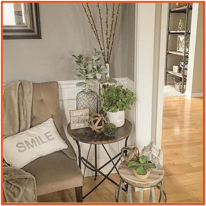 Decor Ideas For Living Room End Tables