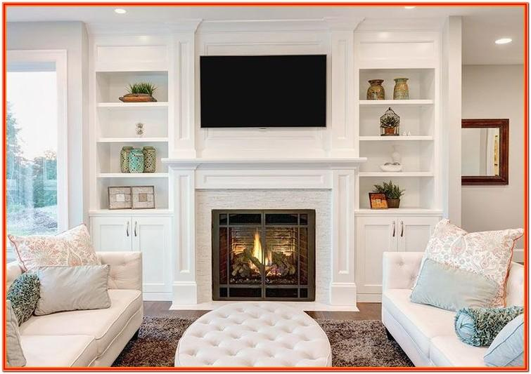 Decor Ideas For Living Room With Fireplace