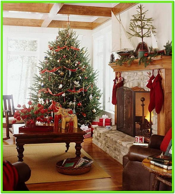 Decorate A Small Living Room For Christmas