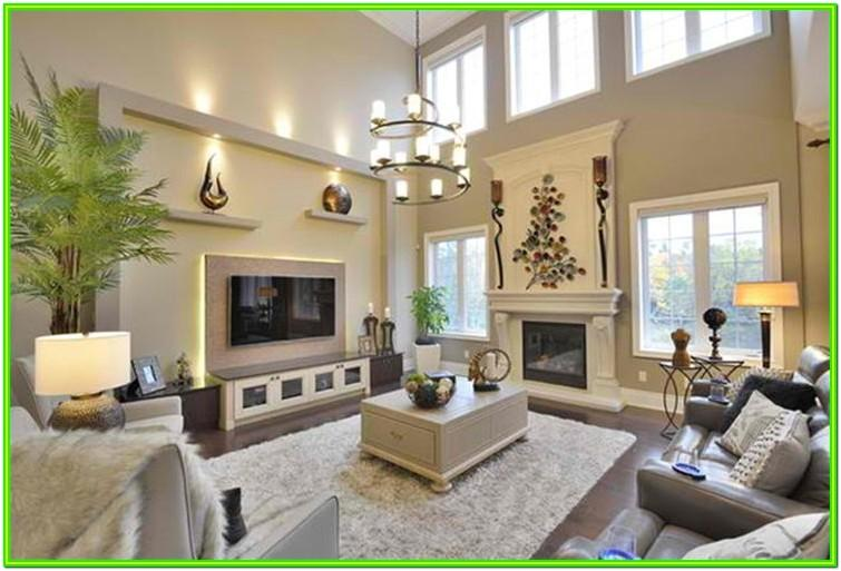 Decorate Large Wall In Living Room