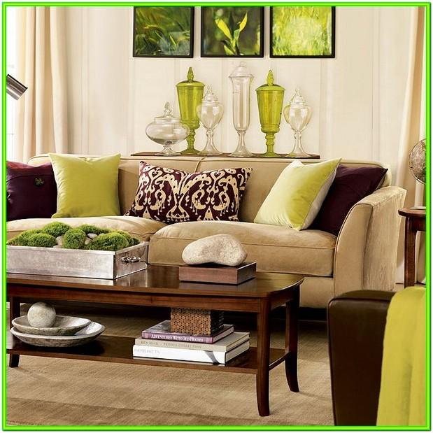 Decorate Living Room With Brown Furniture