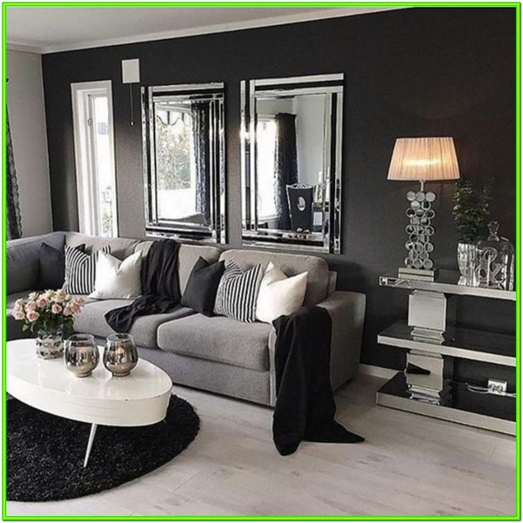 Decorate Living Room With Grey Walls
