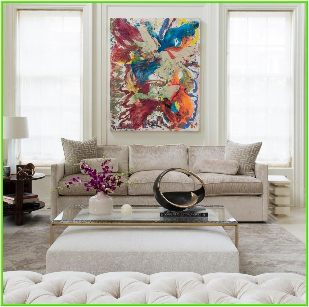 Decorate Living Room With White Walls