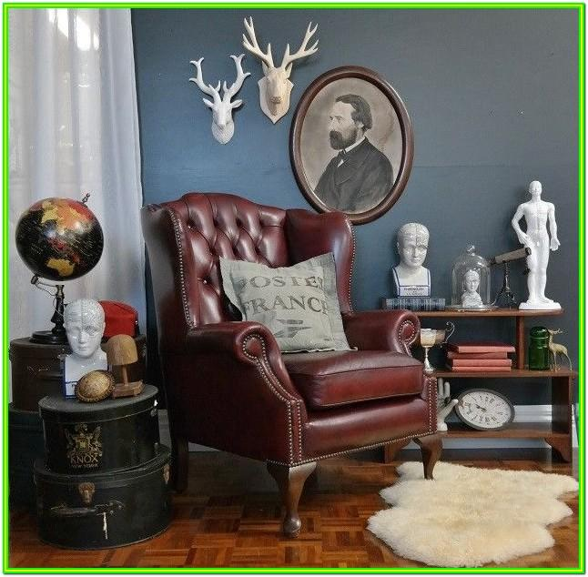 Decorate My Living Room With Leather
