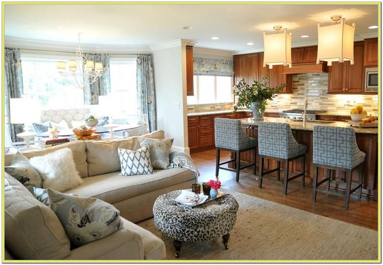 Decorate Open Concept Kitchen Living Room