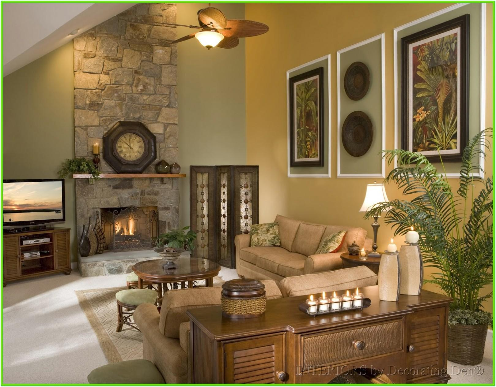 Decorating A Large Living Room With High Ceilings
