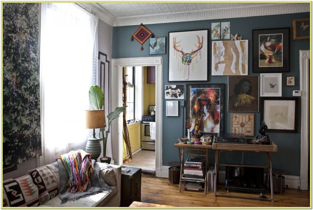 Decorating A Living Room Wall