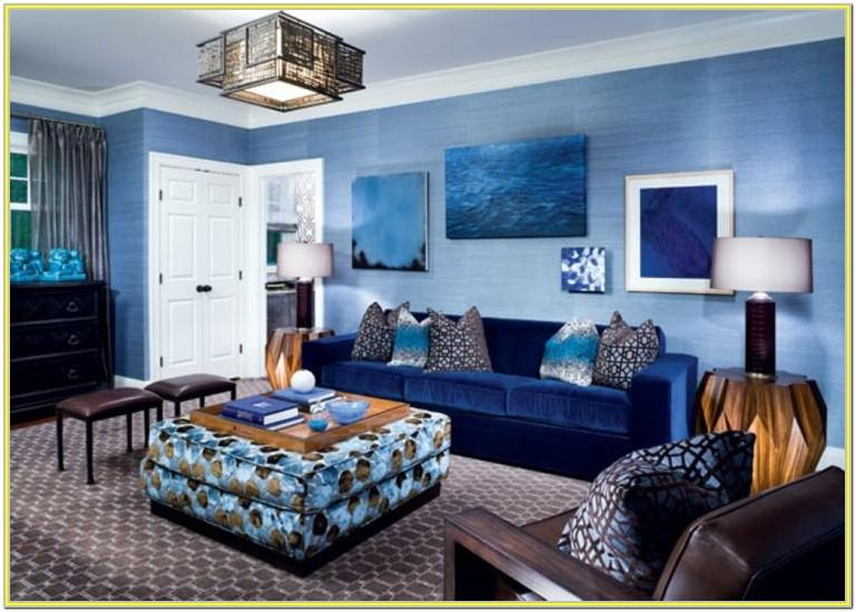 Decorating A Living Room With Blue Walls