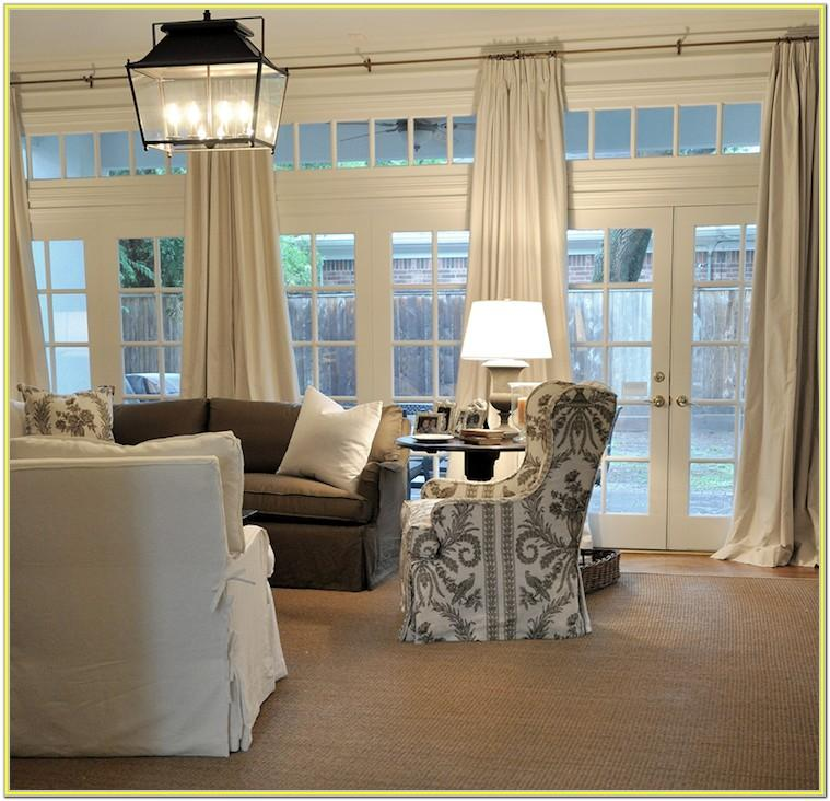 Decorating A Living Room With Multiple Doors And Windows