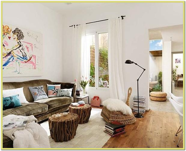 Decorating A Living Room With White Walls