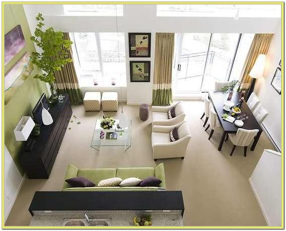 Decorating A Small Living Room Dining Room And Kitchen Combo