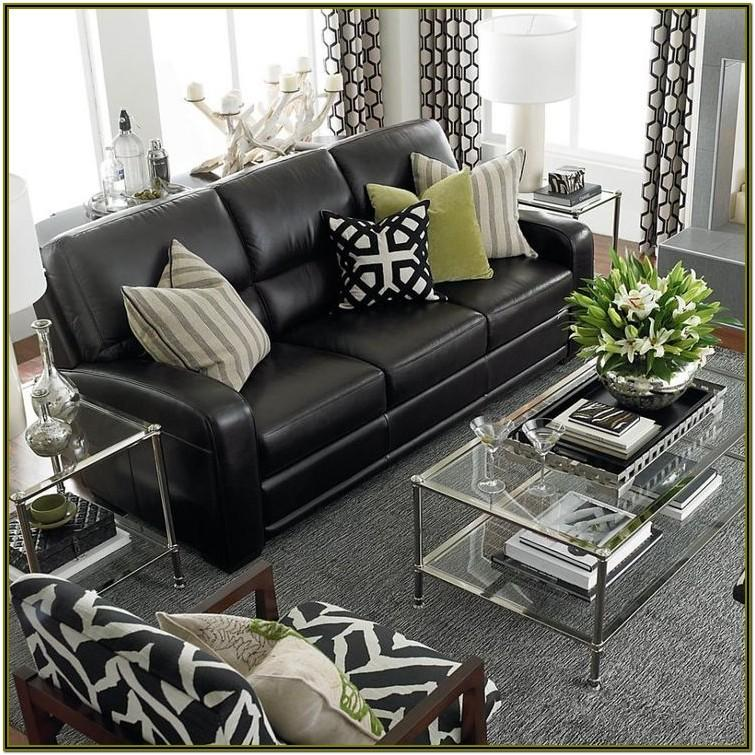 Decorating Black Furniture Living Room