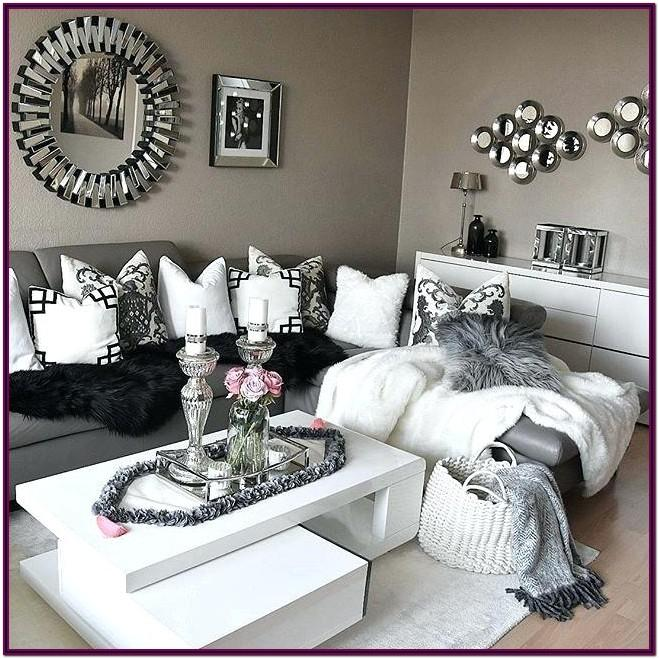 Decorating Ideas For Grey And White Living Room