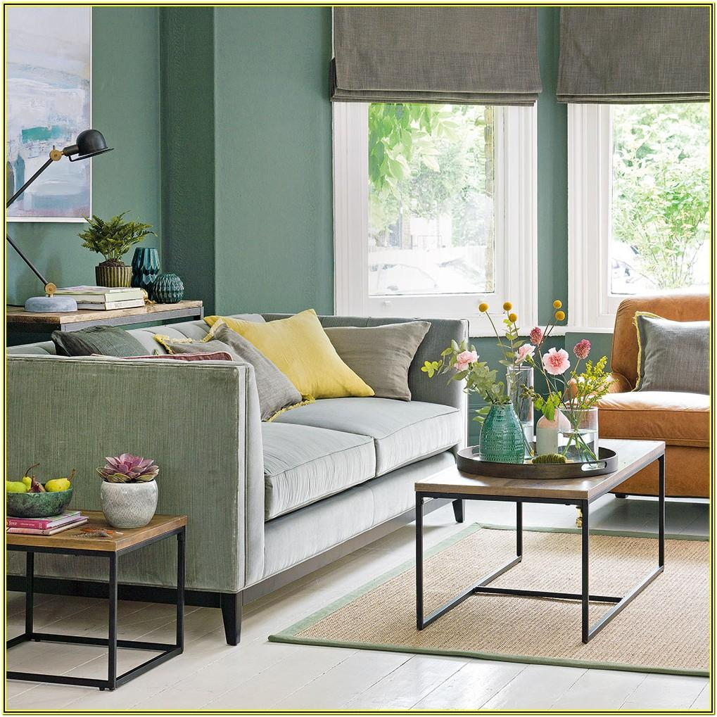 Decorating Ideas For Living Room Green