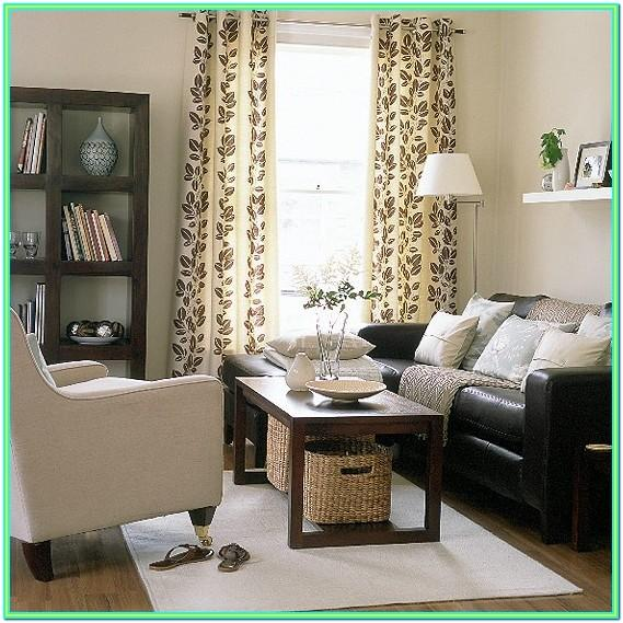 Decorating Ideas For Living Room With Dark Brown Furniture