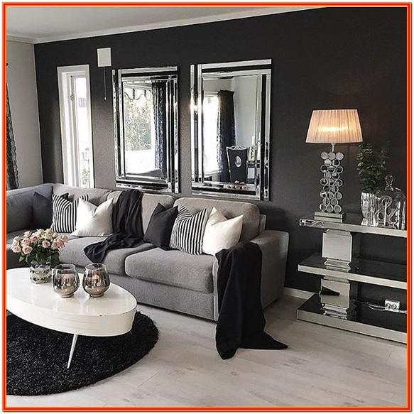 Decorating Ideas For Living Room With Dark Grey Sofa