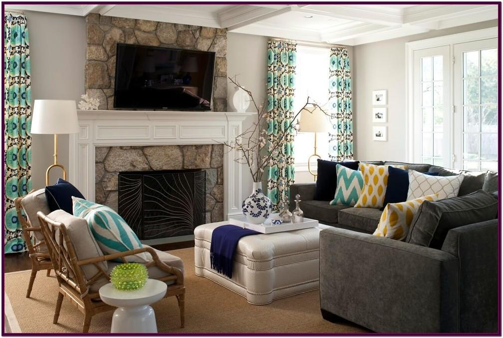 Decorating Ideas For Living Room With Grey Couch