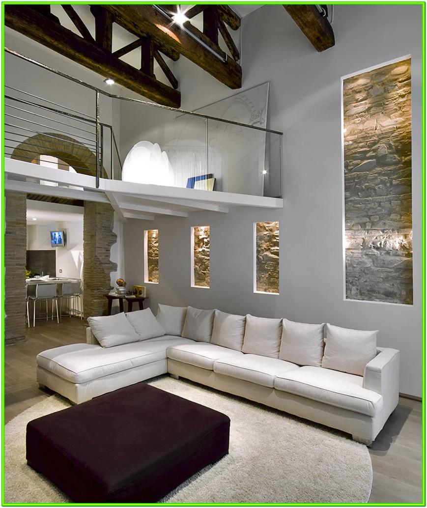 Decorating Ideas For Living Room With High Ceiling