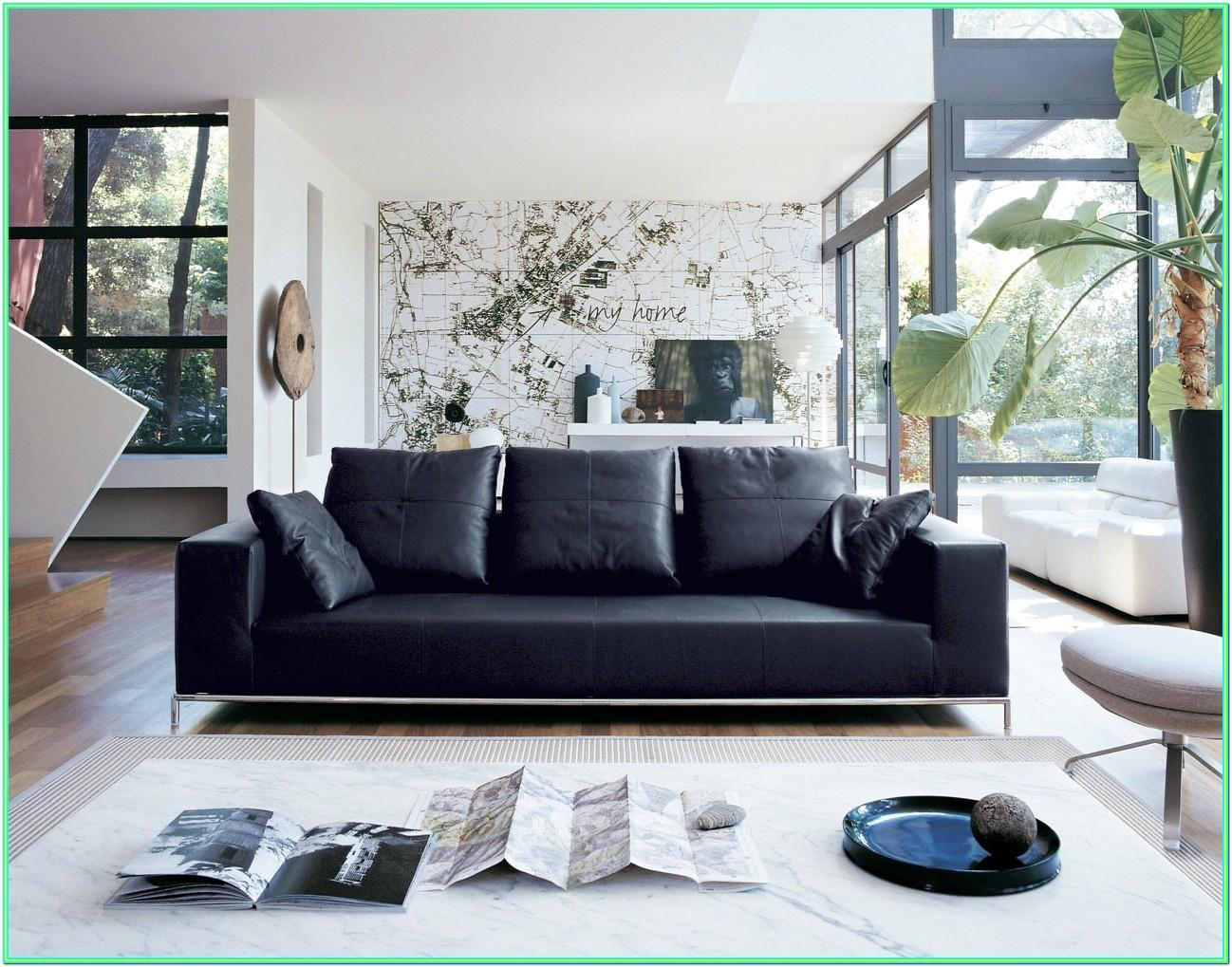 Decorating Ideas For Living Room With Leather Couch