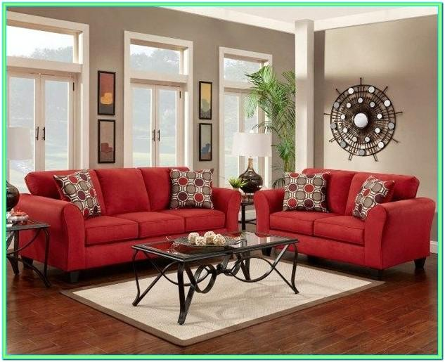 Decorating Ideas For Living Room With Red Couch