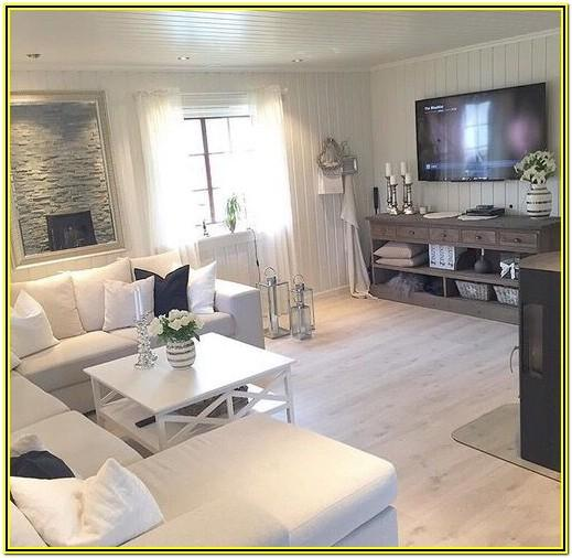 Decorating Ideas For Living Room With White Furniture