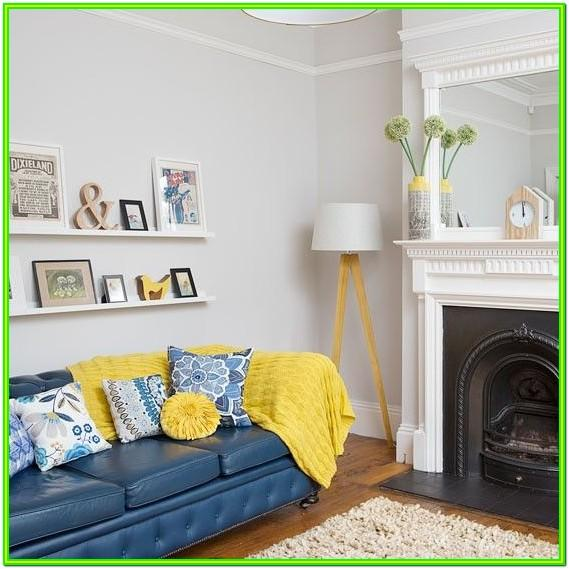 Decorating Ideas For Living Room With Yellow Sofa
