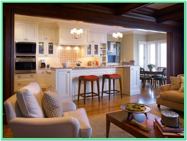 Decorating Ideas For Open Concept Kitchen And Living Room
