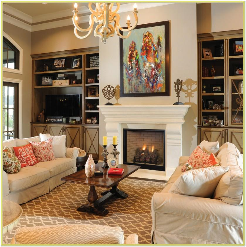 Decorating Ideas Living Room Fireplace
